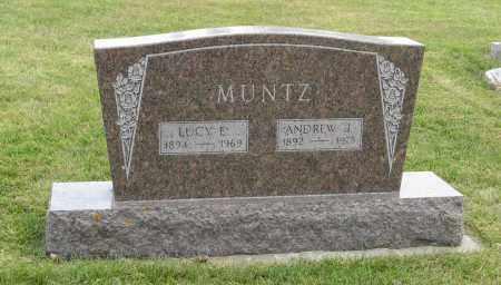 MUNTZ, ANDREW J. - Butler County, Nebraska | ANDREW J. MUNTZ - Nebraska Gravestone Photos