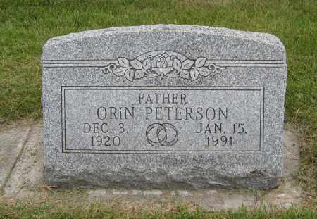 PETERSON, ORIN - Butler County, Nebraska | ORIN PETERSON - Nebraska Gravestone Photos