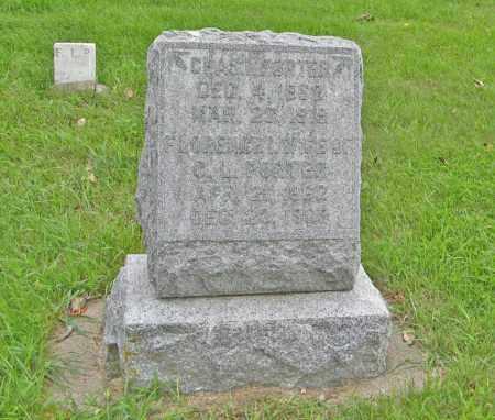 PORTER, CHARLES L - Butler County, Nebraska | CHARLES L PORTER - Nebraska Gravestone Photos