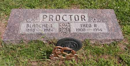 PROCTOR, THEO R - Butler County, Nebraska   THEO R PROCTOR - Nebraska Gravestone Photos