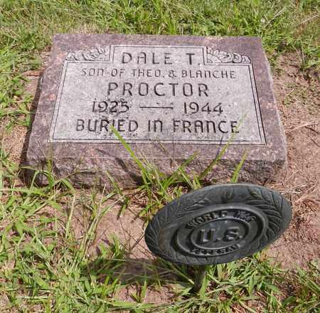 PROCTOR, DALE T - Butler County, Nebraska | DALE T PROCTOR - Nebraska Gravestone Photos