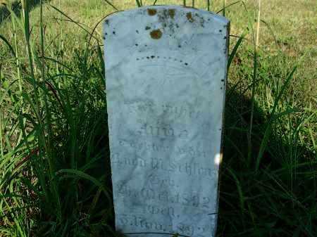 SCHLENTZ, ANNA - Butler County, Nebraska | ANNA SCHLENTZ - Nebraska Gravestone Photos
