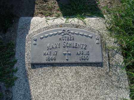 MEYSENBERG SCHLENTZ, MARY - Butler County, Nebraska   MARY MEYSENBERG SCHLENTZ - Nebraska Gravestone Photos