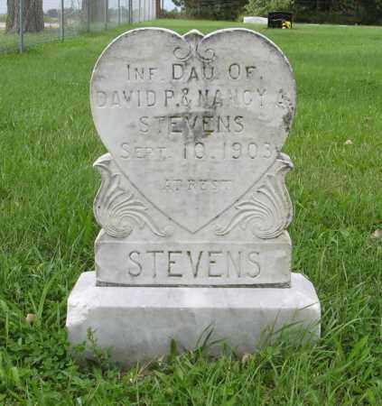 STEVENS, (INFANT DAUGHTER) - Butler County, Nebraska | (INFANT DAUGHTER) STEVENS - Nebraska Gravestone Photos