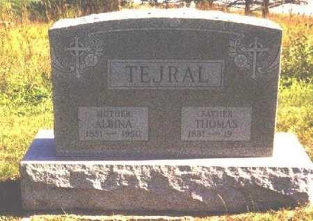 BURESH TEJRAL, ALBINA - Butler County, Nebraska | ALBINA BURESH TEJRAL - Nebraska Gravestone Photos
