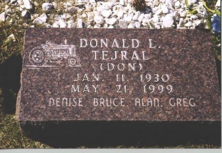 "TEJRAL, DONALD ""DON"" L. - Butler County, Nebraska 