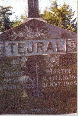 TEJRAL, MARIE - Butler County, Nebraska | MARIE TEJRAL - Nebraska Gravestone Photos