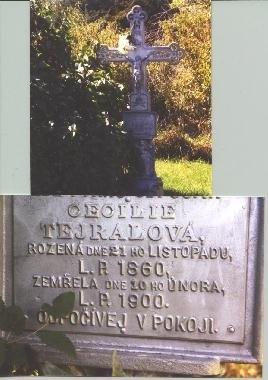 SCHMID TEJRAL [TEJRALOVA], CECILIA - Butler County, Nebraska   CECILIA SCHMID TEJRAL [TEJRALOVA] - Nebraska Gravestone Photos