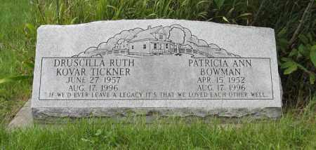 TICKNER, DRUSCILLA RUTH - Butler County, Nebraska | DRUSCILLA RUTH TICKNER - Nebraska Gravestone Photos