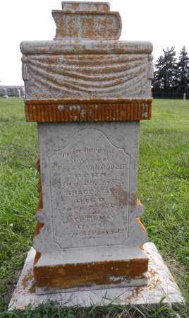 VANDOOZER, GRACE MAY - Butler County, Nebraska   GRACE MAY VANDOOZER - Nebraska Gravestone Photos