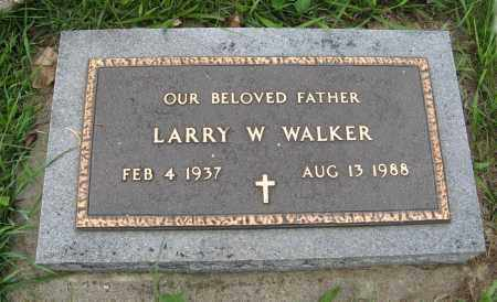 WALKER, LARRY W. (MILITARY MARKER) - Butler County, Nebraska | LARRY W. (MILITARY MARKER) WALKER - Nebraska Gravestone Photos
