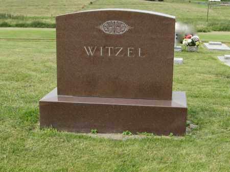 WITZEL, (FAMILY MARKER) - Butler County, Nebraska | (FAMILY MARKER) WITZEL - Nebraska Gravestone Photos