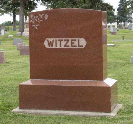 WITZEL, (FAMILY MARKER) - Butler County, Nebraska   (FAMILY MARKER) WITZEL - Nebraska Gravestone Photos