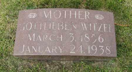 WITZEL, GOTTLIEBEN - Butler County, Nebraska | GOTTLIEBEN WITZEL - Nebraska Gravestone Photos