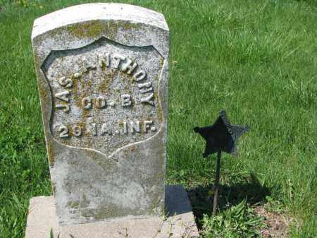 ANTHONY, JAS. - Cass County, Nebraska   JAS. ANTHONY - Nebraska Gravestone Photos
