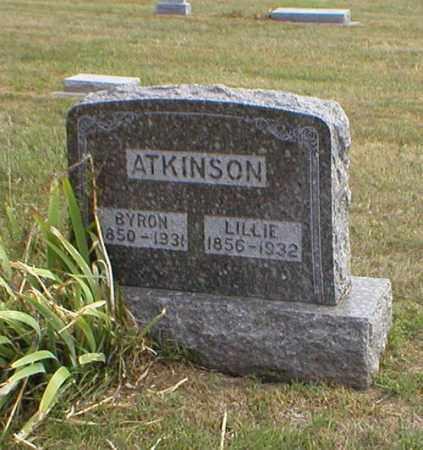 ATKINSON, LILLIE - Cass County, Nebraska | LILLIE ATKINSON - Nebraska Gravestone Photos