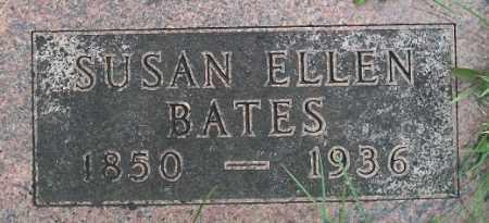 BATES, SUSAN ELLEN - Cass County, Nebraska | SUSAN ELLEN BATES - Nebraska Gravestone Photos