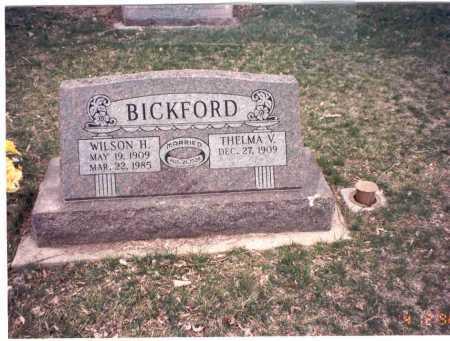 BICKFORD, THELMA V. - Cass County, Nebraska | THELMA V. BICKFORD - Nebraska Gravestone Photos