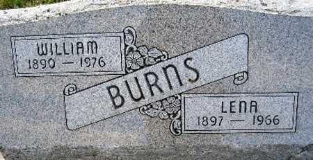 BURNS, LENA - Cass County, Nebraska | LENA BURNS - Nebraska Gravestone Photos