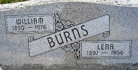 BURNS, WILLIAM - Cass County, Nebraska | WILLIAM BURNS - Nebraska Gravestone Photos