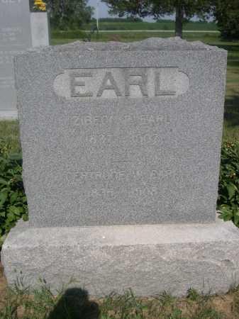 EARL, ZIBEON - Cass County, Nebraska | ZIBEON EARL - Nebraska Gravestone Photos