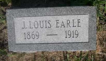 EARLE, J. LOUIS - Cass County, Nebraska | J. LOUIS EARLE - Nebraska Gravestone Photos