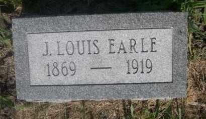 EARLE, J. LOUIS - Cass County, Nebraska | J. LOUIS EARLE - Nebraska Gravestone Photos