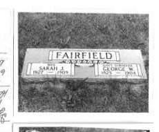 FAIRFIELD, SARAH J. - Cass County, Nebraska | SARAH J. FAIRFIELD - Nebraska Gravestone Photos
