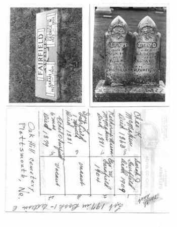 FAIRFIELD, IVY IRENE - Cass County, Nebraska | IVY IRENE FAIRFIELD - Nebraska Gravestone Photos