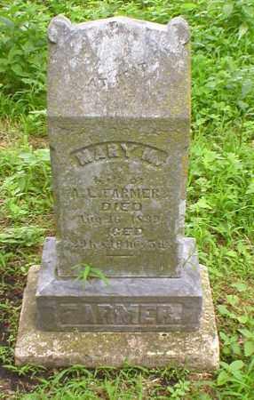 FARMER, MARY - Cass County, Nebraska   MARY FARMER - Nebraska Gravestone Photos