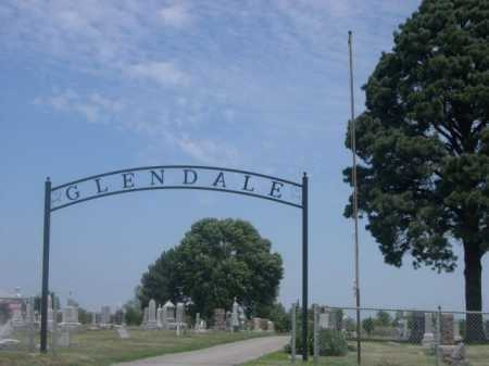 *GLENDALE CEMETERY, ENTRANCE TO - Cass County, Nebraska | ENTRANCE TO *GLENDALE CEMETERY - Nebraska Gravestone Photos