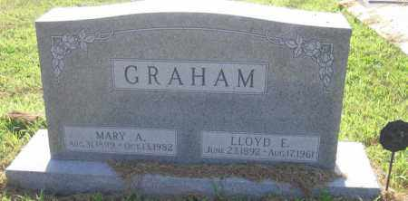 GRAHAM, LLOYD E. - Cass County, Nebraska | LLOYD E. GRAHAM - Nebraska Gravestone Photos