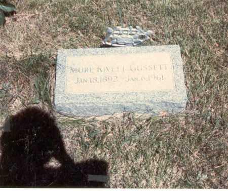 MARK GUSSETT, MURL - Cass County, Nebraska | MURL MARK GUSSETT - Nebraska Gravestone Photos