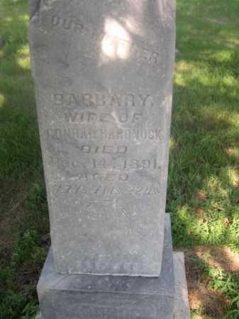 HARDNOCK, BARBARY - Cass County, Nebraska | BARBARY HARDNOCK - Nebraska Gravestone Photos