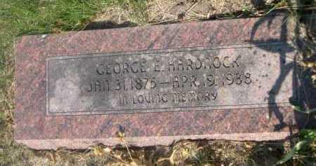 HARDNOCK, GEORGE E. - Cass County, Nebraska | GEORGE E. HARDNOCK - Nebraska Gravestone Photos