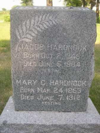 HARDNOCK, MARY C. - Cass County, Nebraska | MARY C. HARDNOCK - Nebraska Gravestone Photos