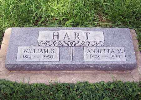 HART, ANNETTA MARY JANE - Cass County, Nebraska | ANNETTA MARY JANE HART - Nebraska Gravestone Photos
