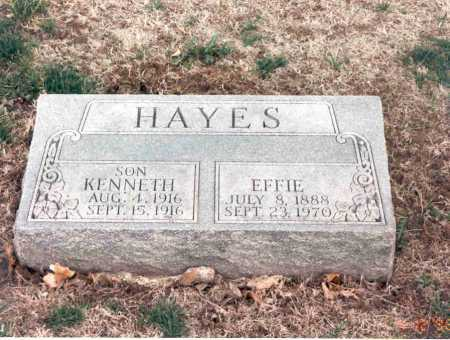 HAYES, KENNETH - Cass County, Nebraska | KENNETH HAYES - Nebraska Gravestone Photos