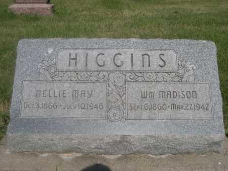 HIGGINS, WM MADISON - Cass County, Nebraska | WM MADISON HIGGINS - Nebraska Gravestone Photos