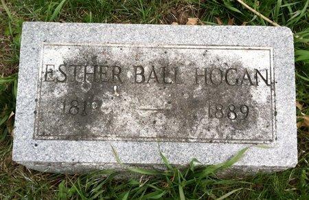 HOGAN, ESTHER - Cass County, Nebraska | ESTHER HOGAN - Nebraska Gravestone Photos
