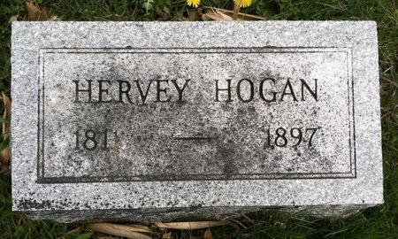 HOGAN, HERVEY - Cass County, Nebraska | HERVEY HOGAN - Nebraska Gravestone Photos