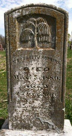 HOPKINS, MARGARET J. - Cass County, Nebraska | MARGARET J. HOPKINS - Nebraska Gravestone Photos