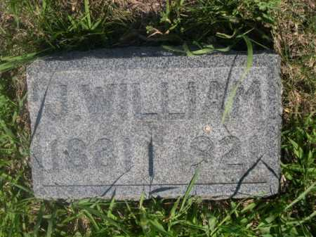 HORSH, J. WILLIAM - Cass County, Nebraska | J. WILLIAM HORSH - Nebraska Gravestone Photos
