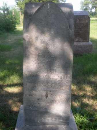 HURSH, LILLIE MAY - Cass County, Nebraska | LILLIE MAY HURSH - Nebraska Gravestone Photos