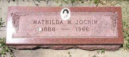 JOCHIM, MATHILDA M - Cass County, Nebraska   MATHILDA M JOCHIM - Nebraska Gravestone Photos