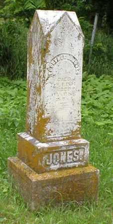 JONES, FLORENCE - Cass County, Nebraska | FLORENCE JONES - Nebraska Gravestone Photos