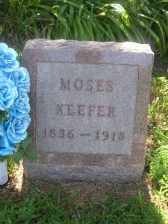 KEEFER, MOSES - Cass County, Nebraska | MOSES KEEFER - Nebraska Gravestone Photos
