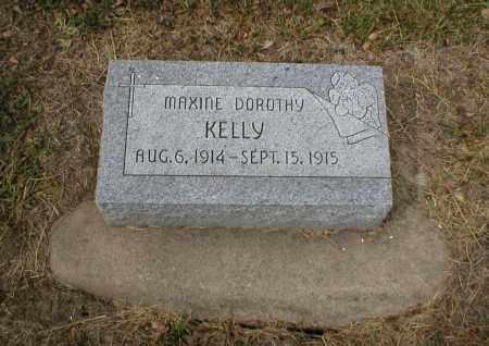 KELLY, MAXINE DOROTHY - Cass County, Nebraska | MAXINE DOROTHY KELLY - Nebraska Gravestone Photos