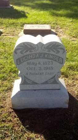 SUMMERS KINSER, LUCINDA - Cass County, Nebraska   LUCINDA SUMMERS KINSER - Nebraska Gravestone Photos
