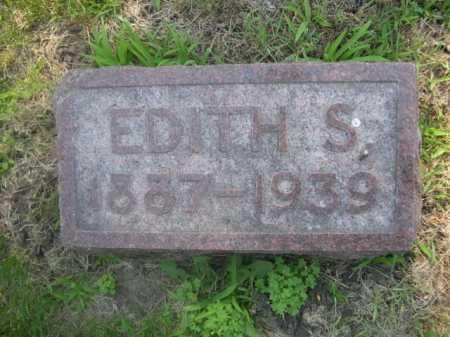 KITZEL, EDITH S. - Cass County, Nebraska | EDITH S. KITZEL - Nebraska Gravestone Photos